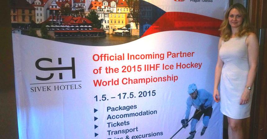 Чехи в Минске презентовали ЧМ мира по хоккею 2015