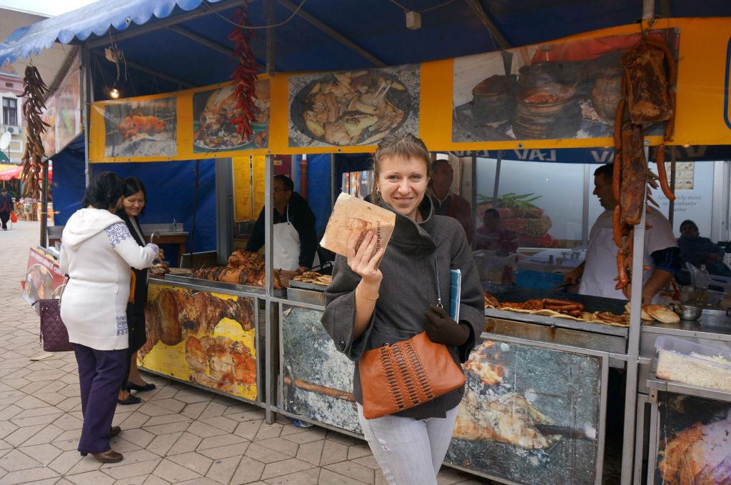 Мы попробовали! На фото: Анастасия Шаткевич, редактор портала путушествий Traveling.by