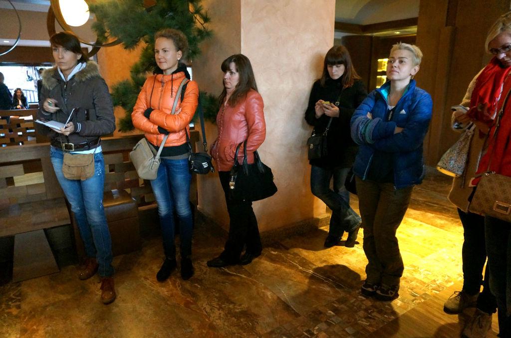 Агенты в отеле MK Mountain Resort