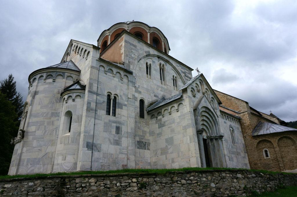 Церковь в монастыре Студеница