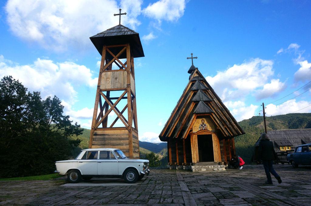 В деревне Дрвенград