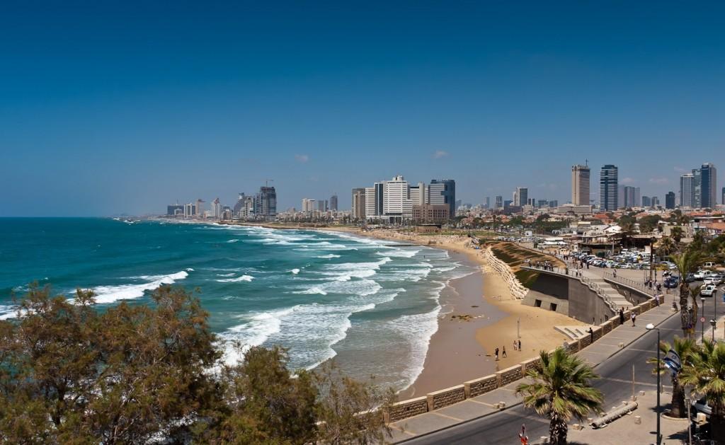 Тель-Авив-зимой