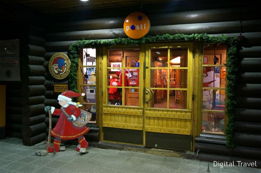 Почта Санта-Клауса в Рованиеми