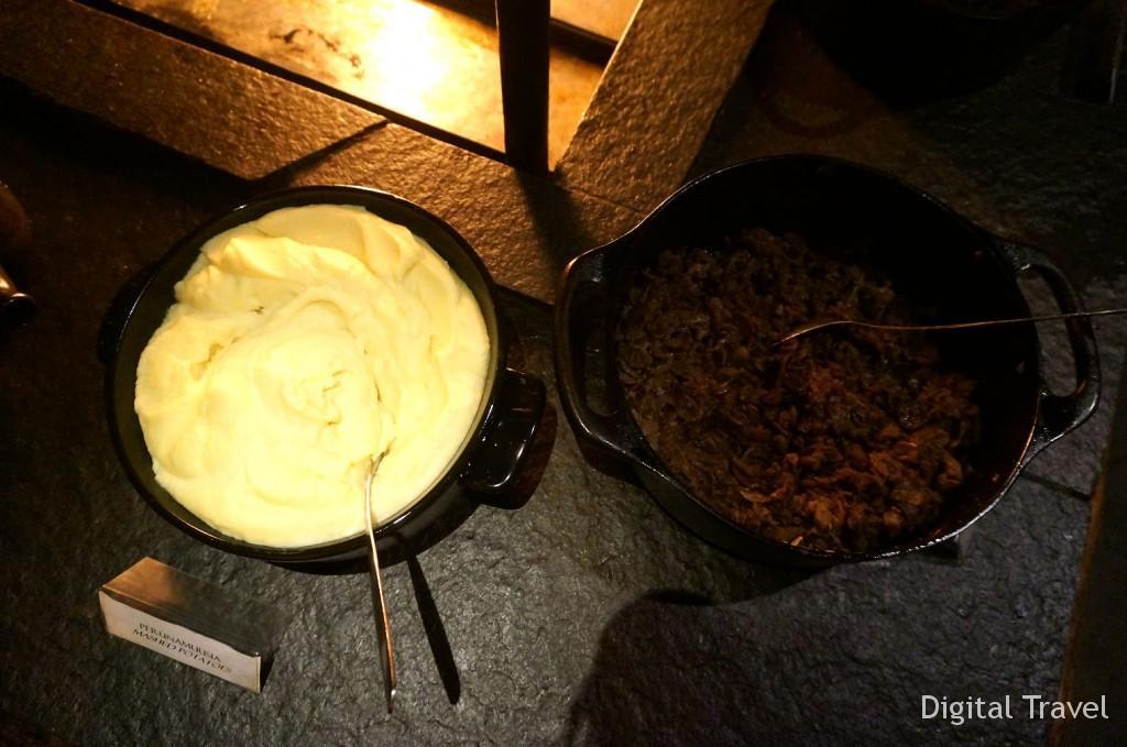 Традиционно в Леви подают картофельное пюре с олениной