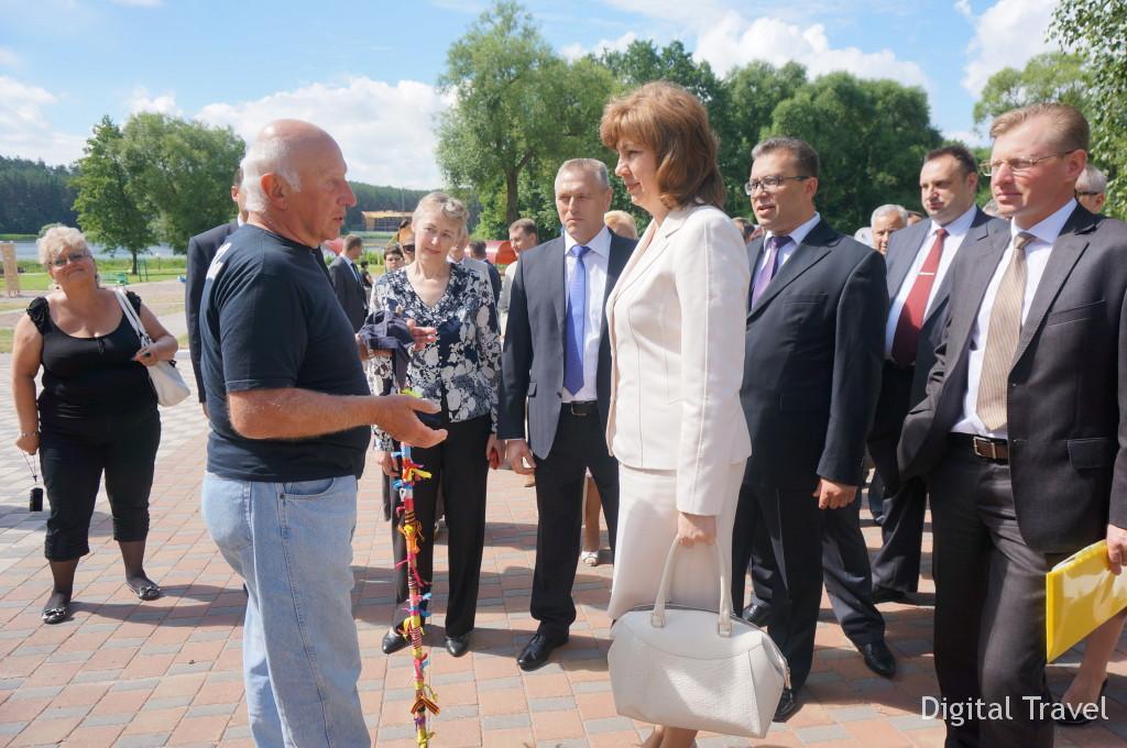 Общение с постояльцами. Гость из Грузии отдыхает в Беларуси 9ый год подряд.