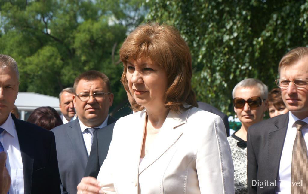 Председатель совета, вице-премьер Наталья Кочанова