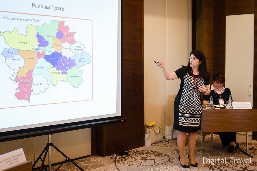 Галина Захарук, директор чешского туроператора Best of Travel