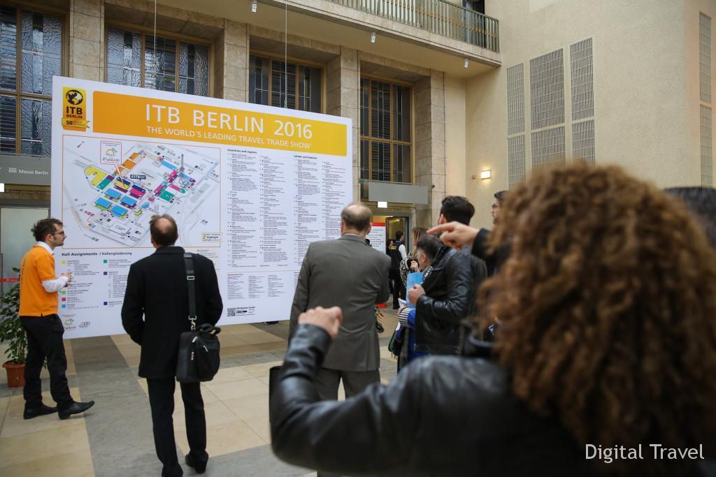 ITB Berlin 2016 - Eingang Nord -