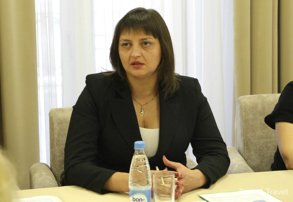 Елена Лихимович, заместитель директора ГУ «Национальное агентство по туризму»