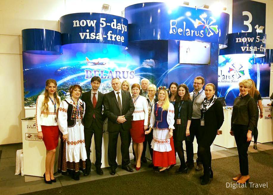 ITB Berlin 2017. Стенд Национального агентства по туризму Беларуси. Фото: Елена Плис
