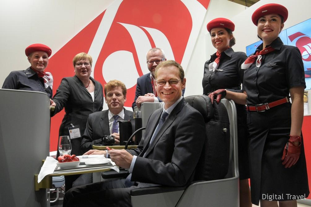 Opening round tour Air Berlin