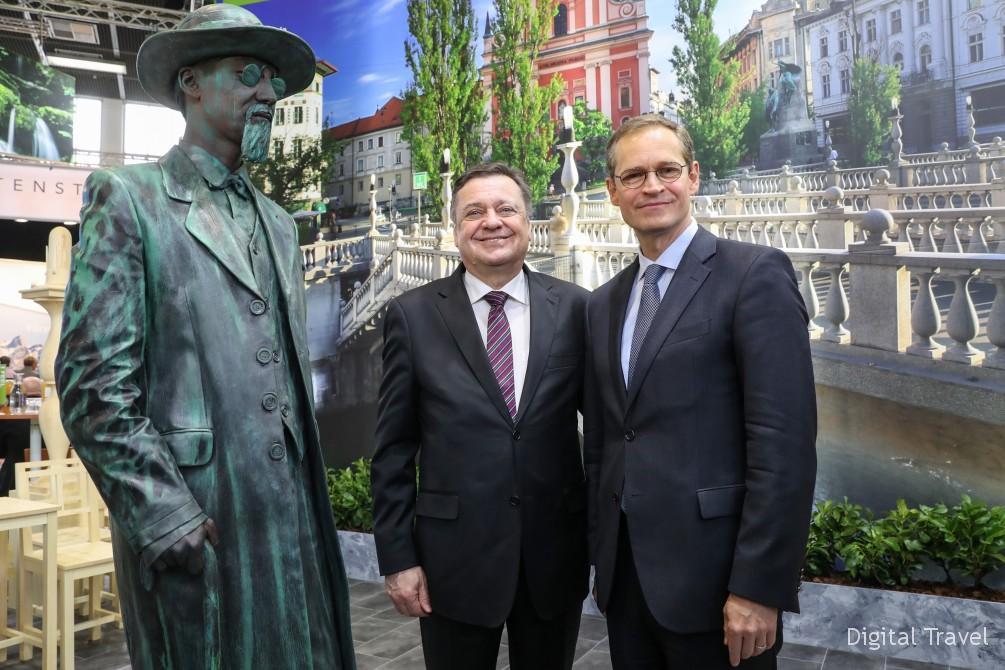 Opening round tour Slovenia