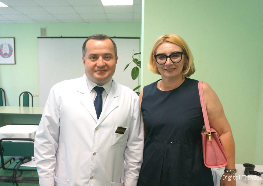 Соорганизаторы презентации возможностей УЗ МОКБ Андрей Корольков и Наири Эраносьян