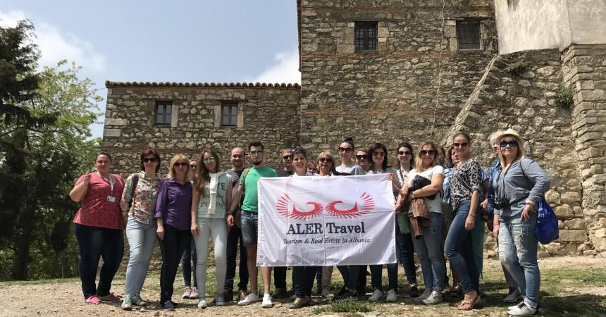 Фотофакт. Белорусские агенты отправились в рекламный тур в Албанию