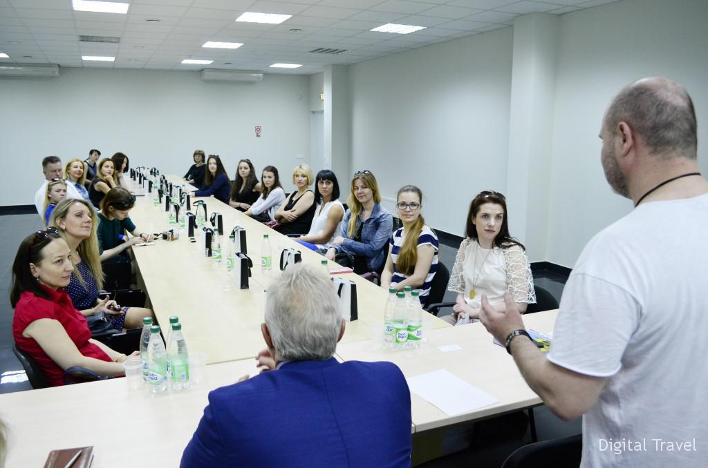 Встреча турагентов с руководством ювелирного завода