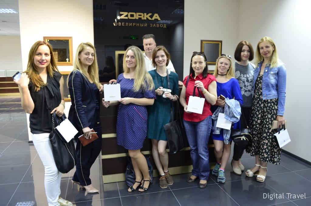 Шоу-рум завода ZORKA