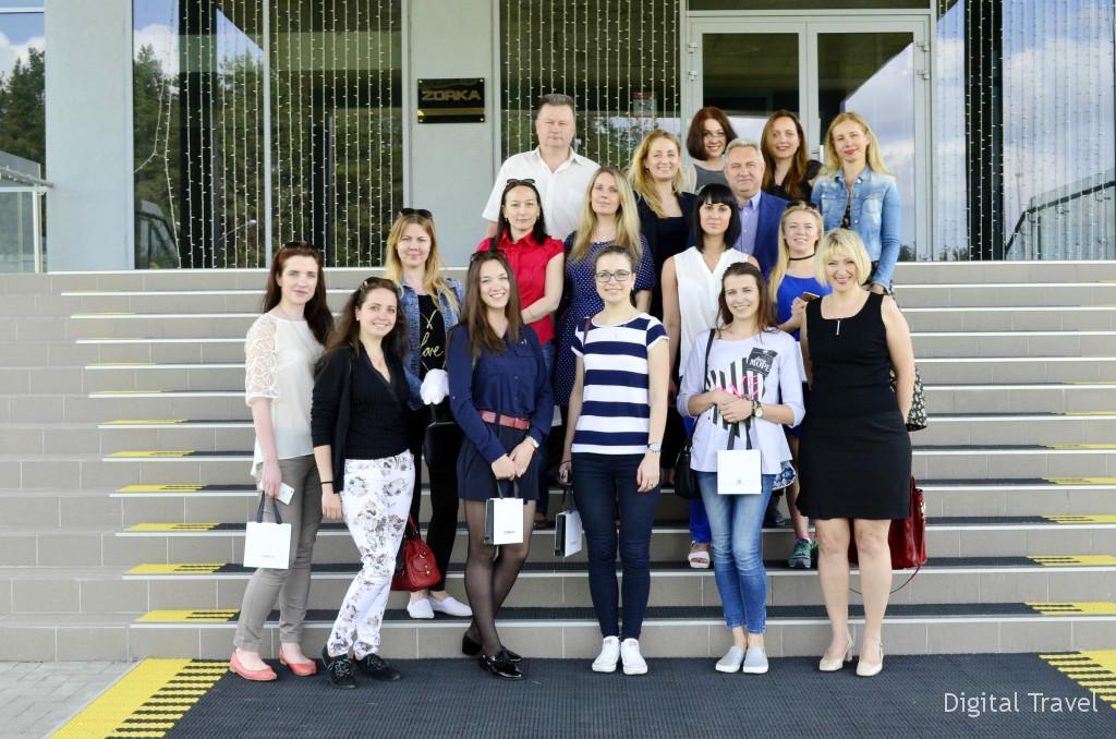 Участники экскурсии для турагентов Беларуси
