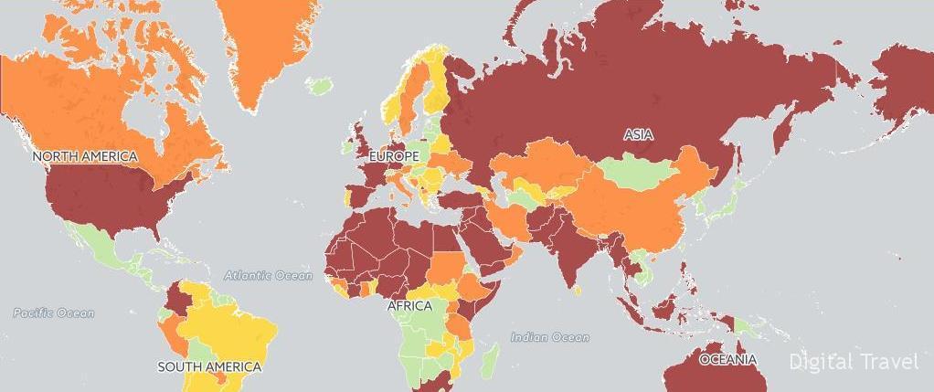 карта террористических угроз