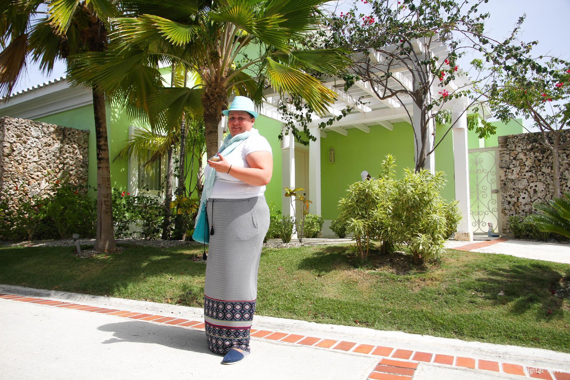 Виктория Дорогонько в инфотуре в Доминикане в сентябре 2017 года