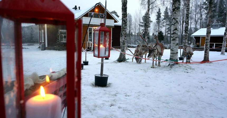 Новогодние авиа-программы в Лапландию на курорт Леви из Минска