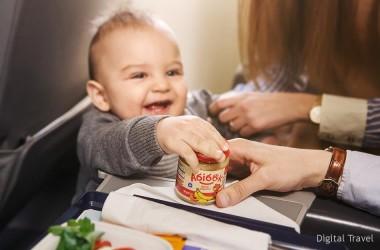 «Белавиа» вводит детское питание на борту