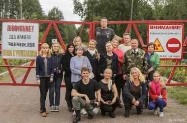 Выездной семинар «До и после Чернобыля: открываем дороги Гомельщины» прошел при организации НАТ (фото)