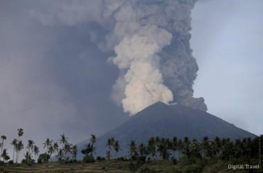Минспорта рекомендует воздержаться от поездок в Индонезию из-за активности вулкана на Бали